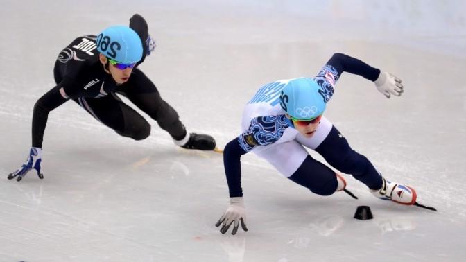 Шорт - трек золото в эстафете Сочи 2014. Золотые медали сборной России