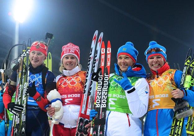 Российская женская сборная по биатлону. Наши биатлонистки.